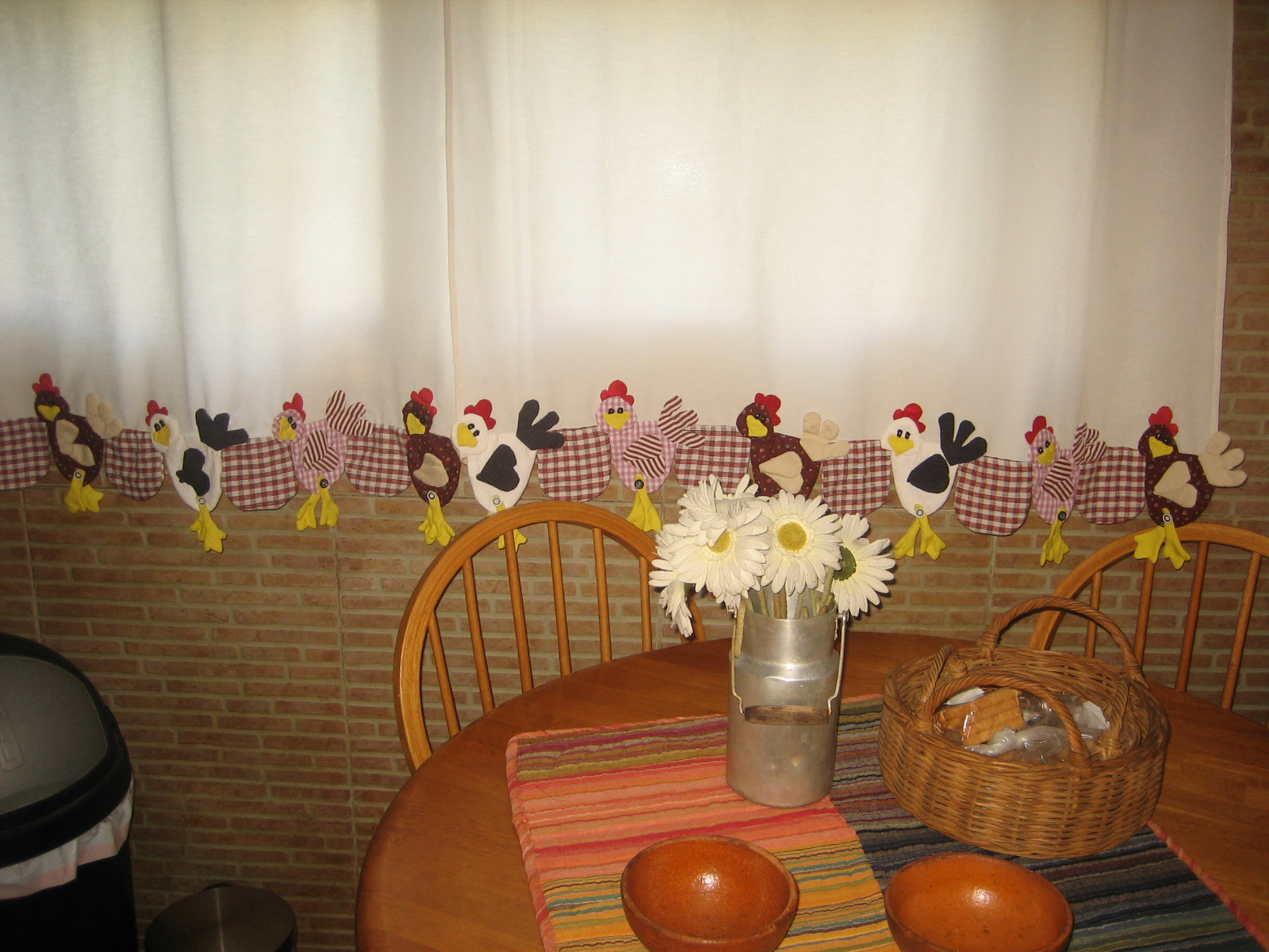 Cortinas country para la cocina coserybailar for Mia decoracion